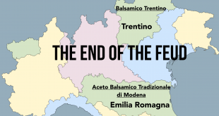 The balsamic vinegar of Trentino