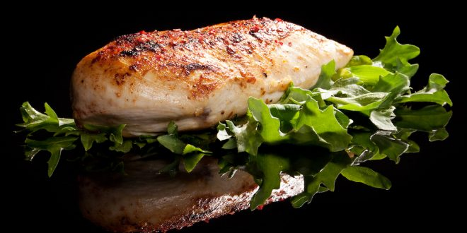 Chicken breast with balsamic vinegar