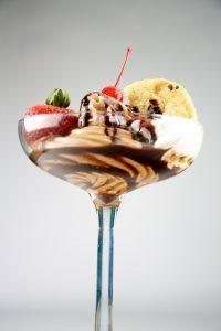 Balsamic vinegar of Modena ice cream