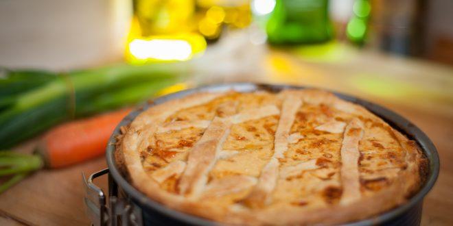 Potato pie with original Balsamic Vinegar of Modena