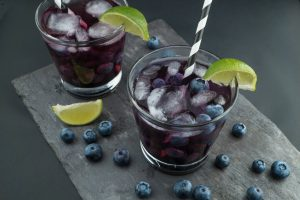 Fruit drinks with original Balsamic Vinegar