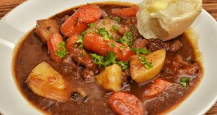 Lamb stew with original Traditional Balsamic Vinegar of Modena