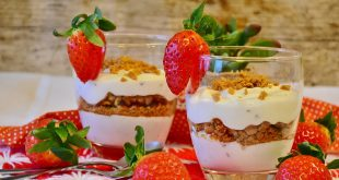 Strawberry Martini Shortcake with Balsamic Vinegar