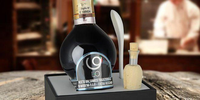 Traditional Balsamic Vinegar is first in line