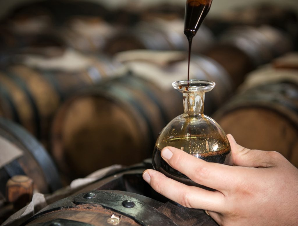 Travasi and Rincalzi of the Traditional Balsamic Vinegar