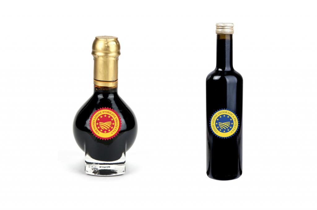 Differences between Balsamic Vinegar PDO and PGI