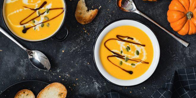 molecular pumpkin soup