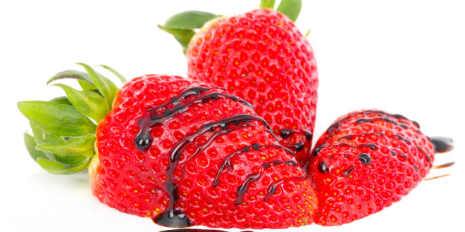 Strawberries with Traditional Balsamic Vinegar