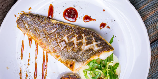 Sea bream fillets with Balsamic