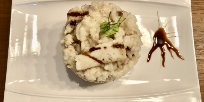 Risotto with Balsamic Vinegar