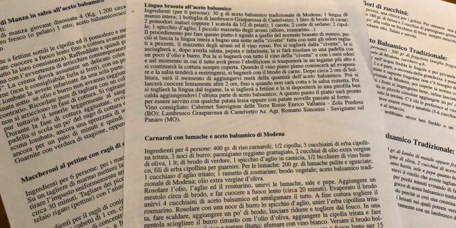 Carnaroli rice snails and Balsamic