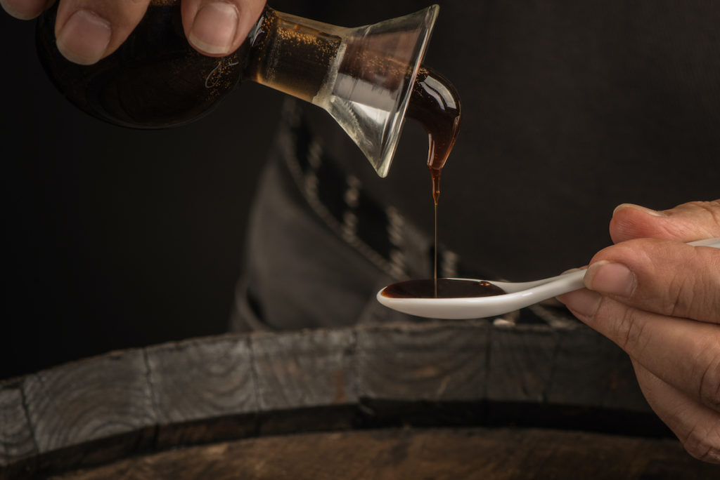 balsamic vinegar: visual aspects
