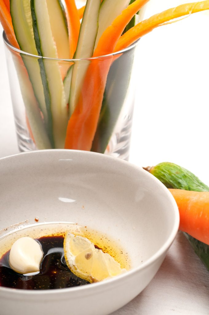 Fresh Vegetables Pinzimonio