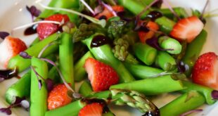 Strawberry Asparagus Salad and Balsamic