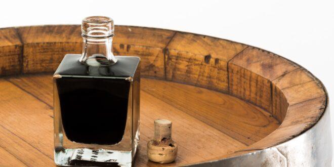 Balsamic Vinegar and plastic