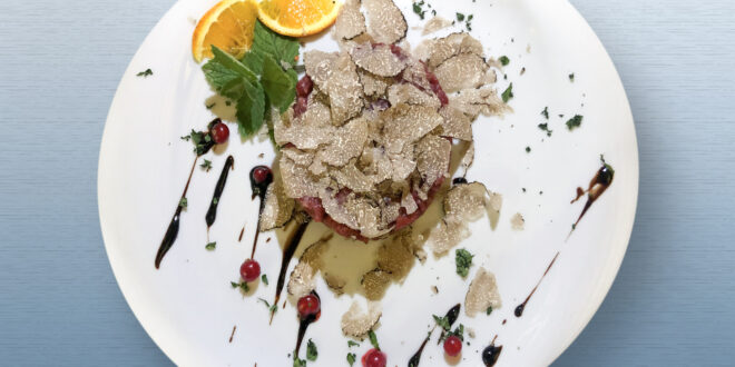 Tartare with Truffle and Balsamic