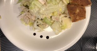 Cesar Salad with Balsamic Vinegar
