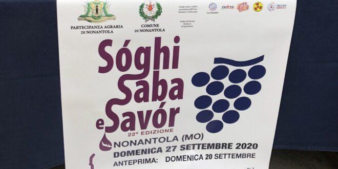 Sóghi Saba and Savor Nonantola