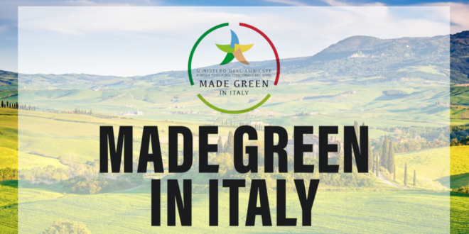 """Balsamic: """"Made Green In Italy"""" Brand"""