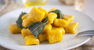 Pumpkin gnocchi with Balsamic