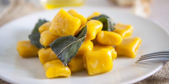 Pumpkin gnocchi with Balsamic